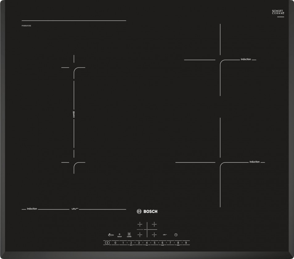Indukční desky Indukční varná deska Bosch PVS651FC5E