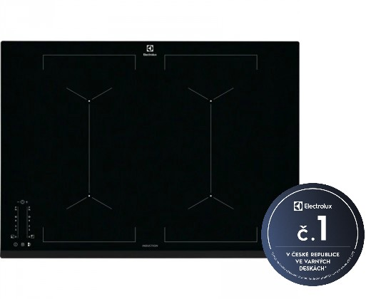 Indukční desky Indukční varná deska Electrolux 700 FLEX Bridge EIV744
