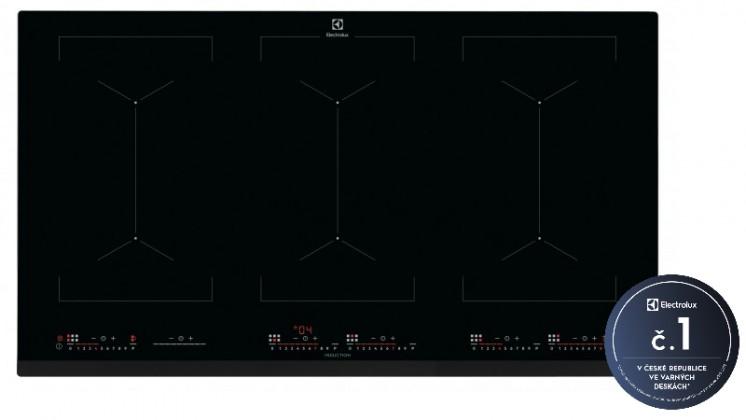 Indukční desky Indukční varná deska Electrolux 700 FLEX Bridge EIV9467