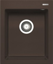 Istros - Granitový dřez 41x50, 1B, hnědá
