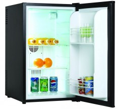 Jednodveřová lednice Guzzanti GZ 70B + dárek ventilátor Ardes AR5EA23