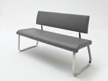 Jídelní lavice Lucile šedá