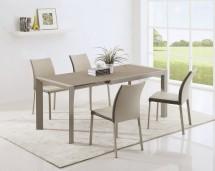 Jídelní stůl Arabis 2 - 120-182x80 cm(hnědá,béžová) - II. jakost
