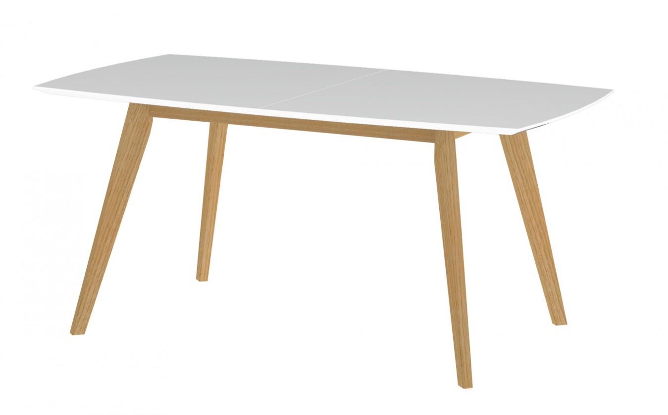 Jídelní stůl BESS 2184-001(bílá/dub)