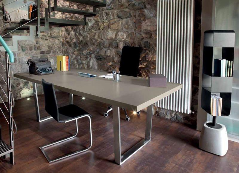 Jídelní stůl Cruise - 200 cm (kostra nikl/deska písek)