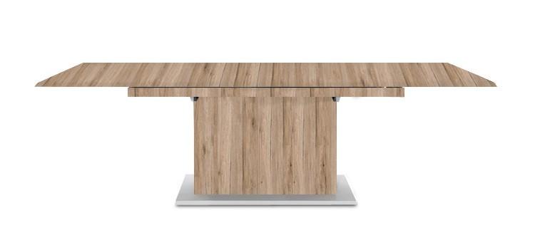 Jídelní stůl Deck 160 cm, rozkládací  (pískový dub/pískový dub)