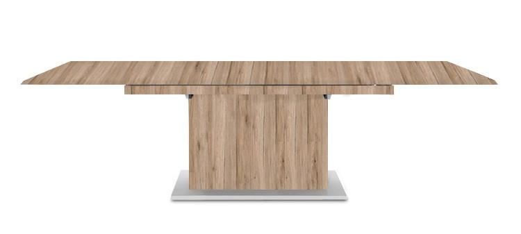 Jídelní stůl Deck 190 cm, rozkládací  (pískový dub/pískový dub)