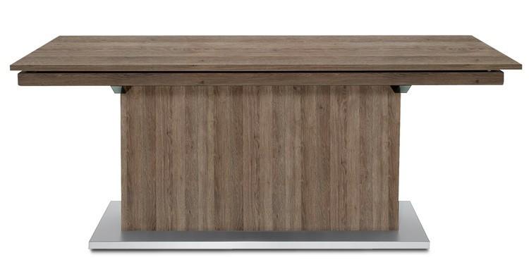 Jídelní stůl Deck 190 cm, rozkládací  (tmavý dub/tmavý dub)