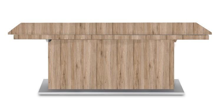 Jídelní stůl Deck 220 cm (deska pískový dub/kostra postavec pískový dub)