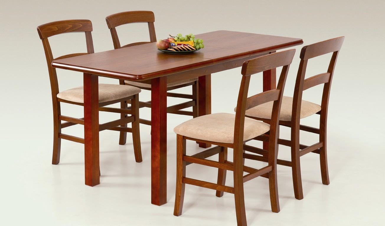 Jídelní stůl Dinner 120/158 (třešeň)