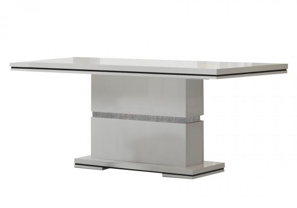 Jídelní stůl Diva - Jídelní stůl 190cm (bílá/diamant)