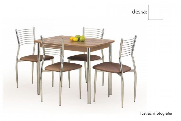 Jídelní stůl Factor (bílá / chrom)