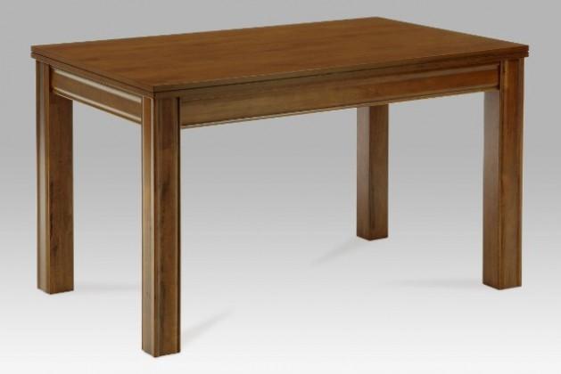 Jídelní stůl Furiani (kaučukovník, moření ořech)
