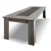Jídelní stůl Glen rozkládací (figaro, beton)