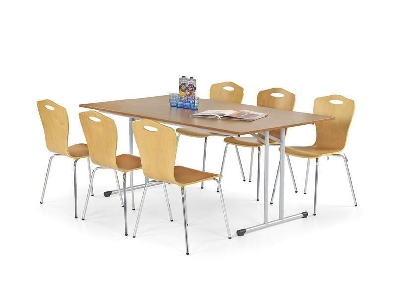 Jídelní stůl Gordon (buk,ocel)