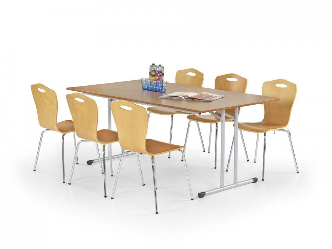 Jídelní stůl Gordon (olše,ocel)