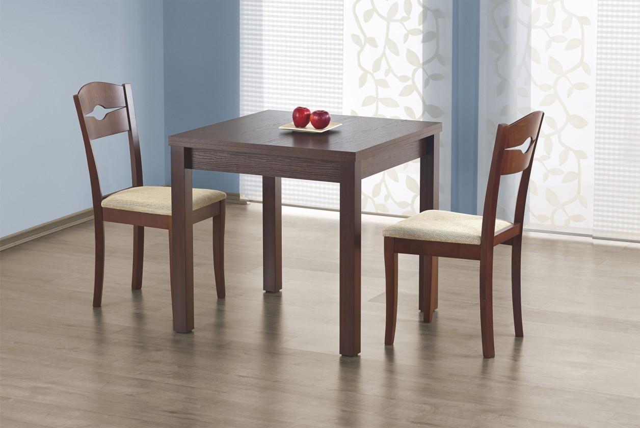 Jídelní stůl Gracjan (ořech tmavý)