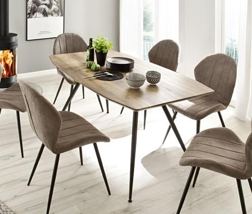 Jídelní stůl Jídelní stůl Andres (dub, černá)