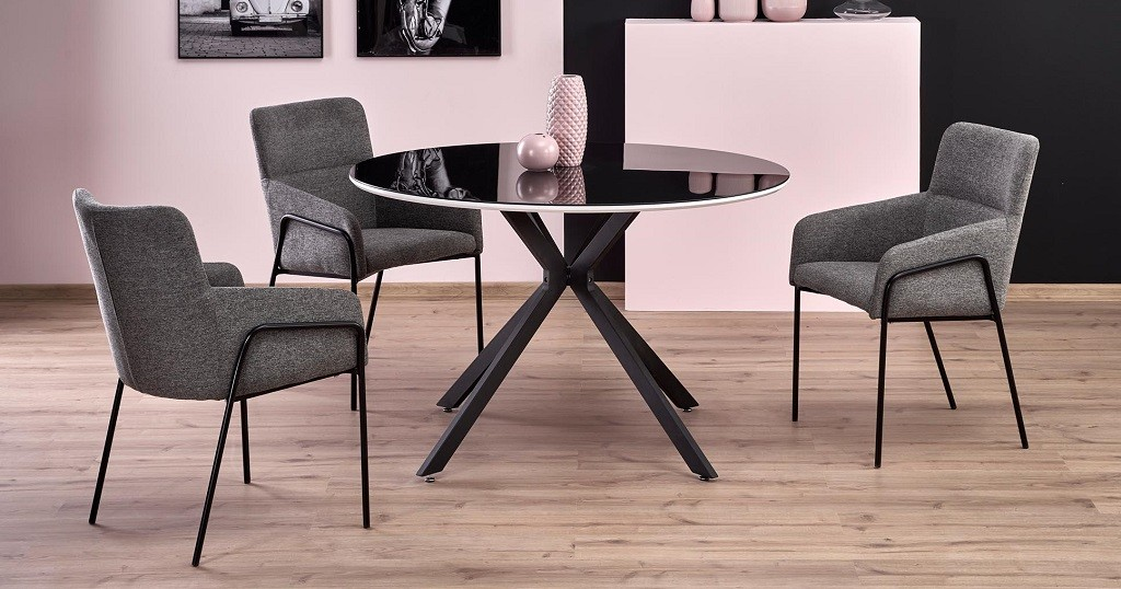Jídelní stůl Jídelní stůl Arthur (černá, bílá)