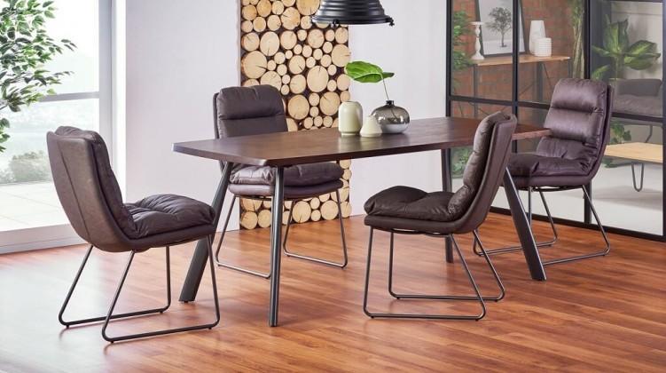 Jídelní stůl Jídelní stůl Finn (ořech, šedá)
