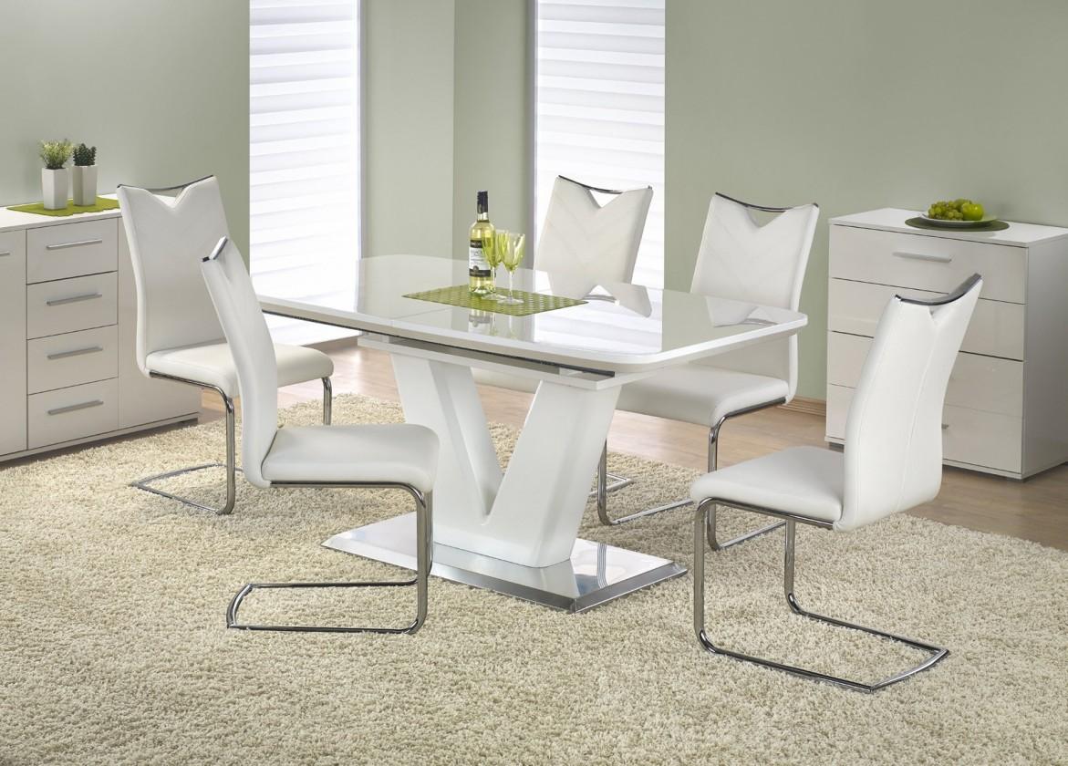 Jídelní stůl Jídelní stůl Mistral - 160 - 220x90 cm (bílý lak)