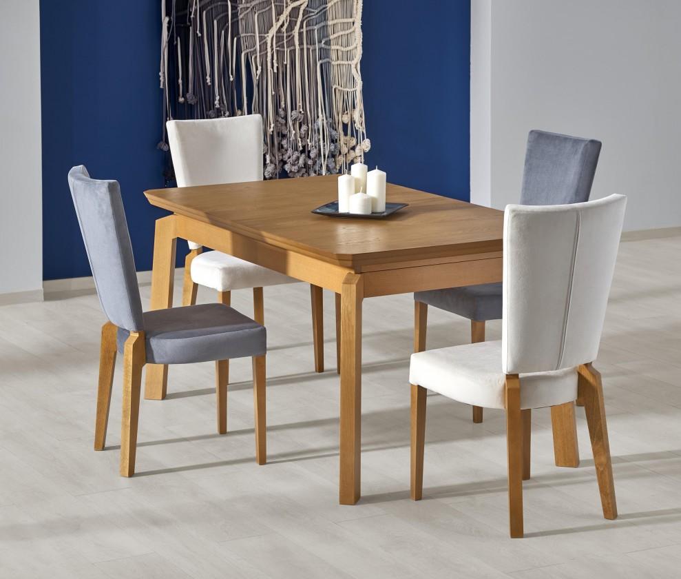 Jídelní stůl Jídelní stůl Rois - rozkládací , 160-250x90x78 (dub medový)