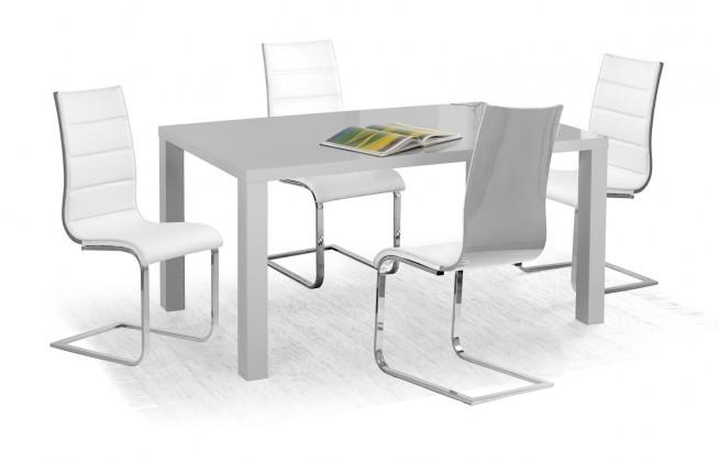 Jídelní stůl Jídelní stůl Ronald - 120x80 cm (šedý lak)