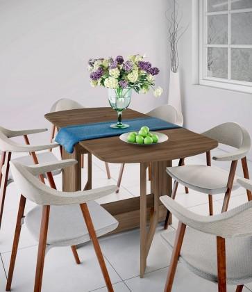 Jídelní stůl jídelní stůl rozkládací jannick (ořech admiral)