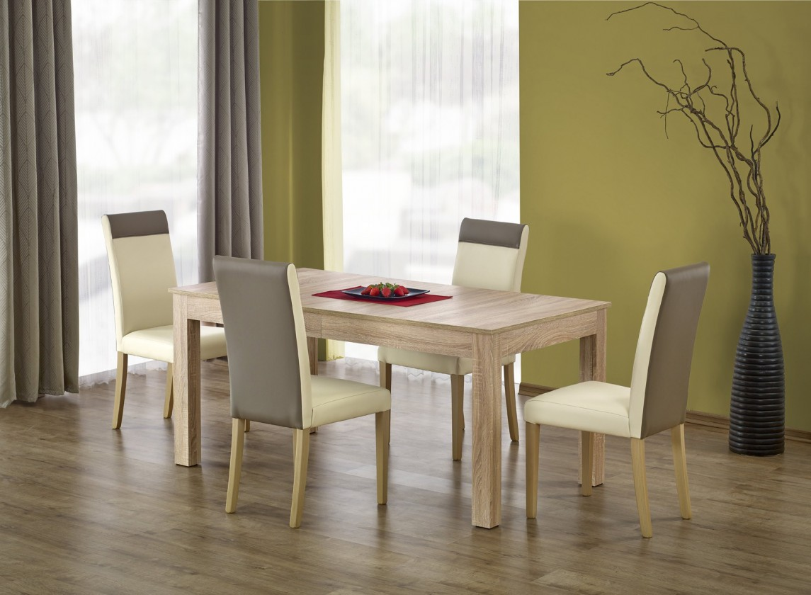 Jídelní stůl Jídelní stůl Seweryn rozkládací -160-300x90 (dub sonoma)