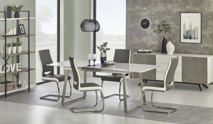 Jídelní stůl Jídelní stůl Thomas - 160-200x90x75 cm (bílá/beton)
