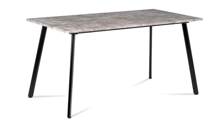 Jídelní stůl Jídelní stůl Torres (beton, černá)