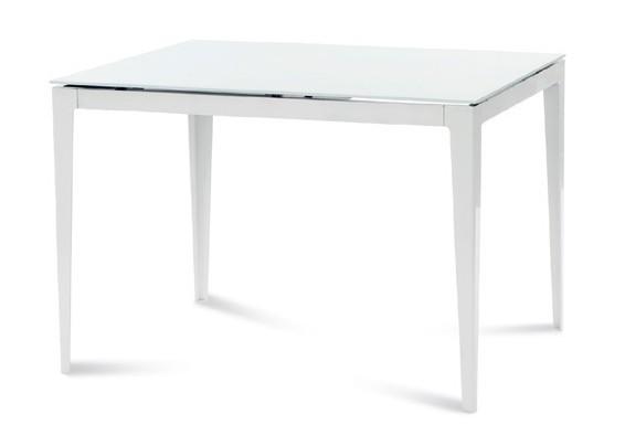 Jídelní stůl Jídelní stůl Wind 110 (bílá, sklo)