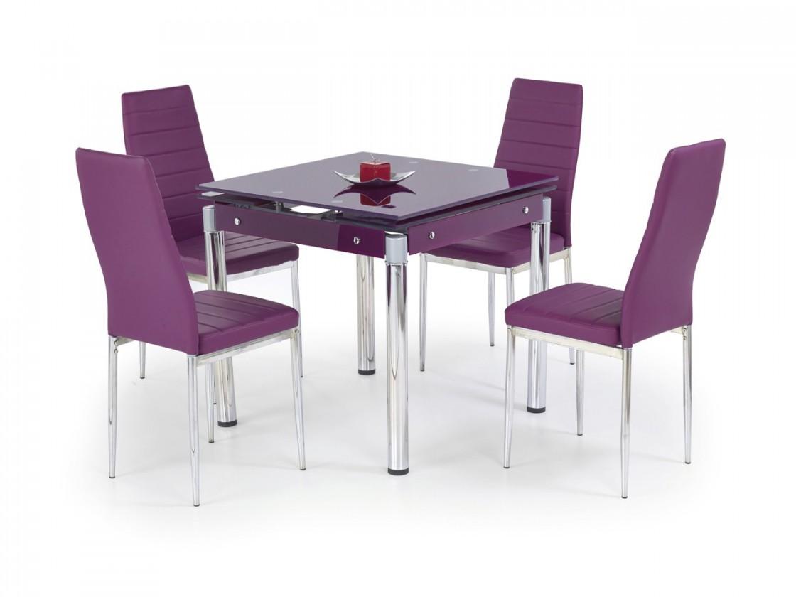 Jídelní stůl Kent - Jídelní stůl (fialová)