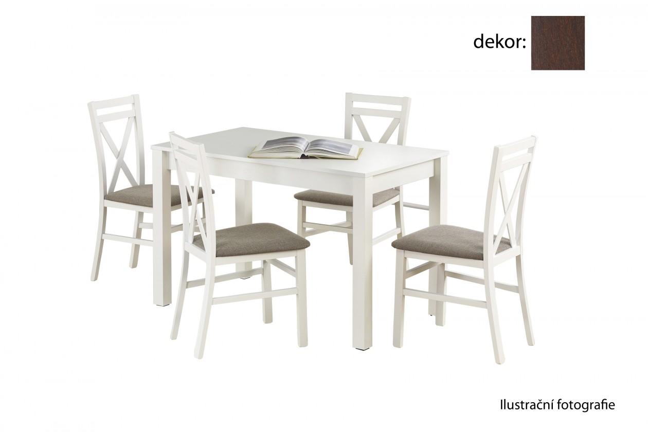 Jídelní stůl Ksawery (ořech tmavý)