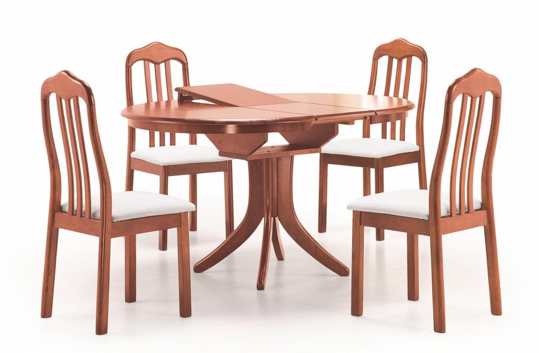 Jídelní stůl Leroy - Jídelní stůl 106-140x106 cm (antická třešeň)
