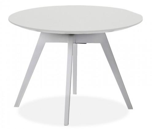Jídelní stůl LOLA 9306-001+BESS 9317-001 (bílá)