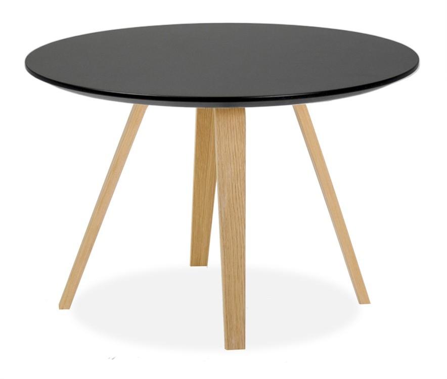 Jídelní stůl LOLA 9306-024+ELLA 9318-054 (černá,dub)