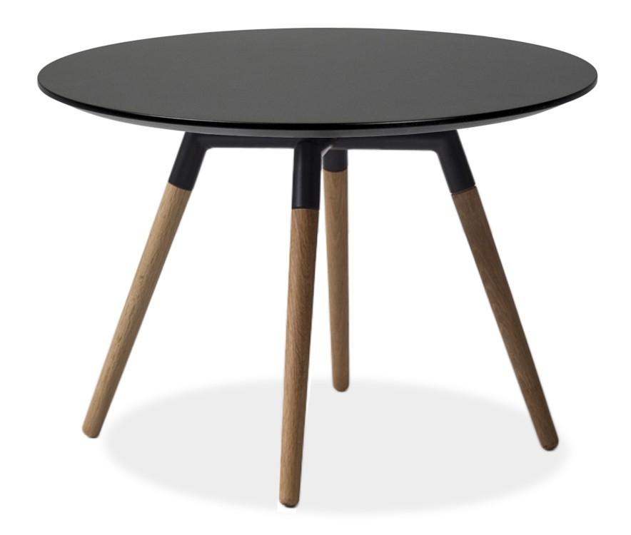 Jídelní stůl LOLA 9306-024+FIDO 9315-154 (černá,dub)