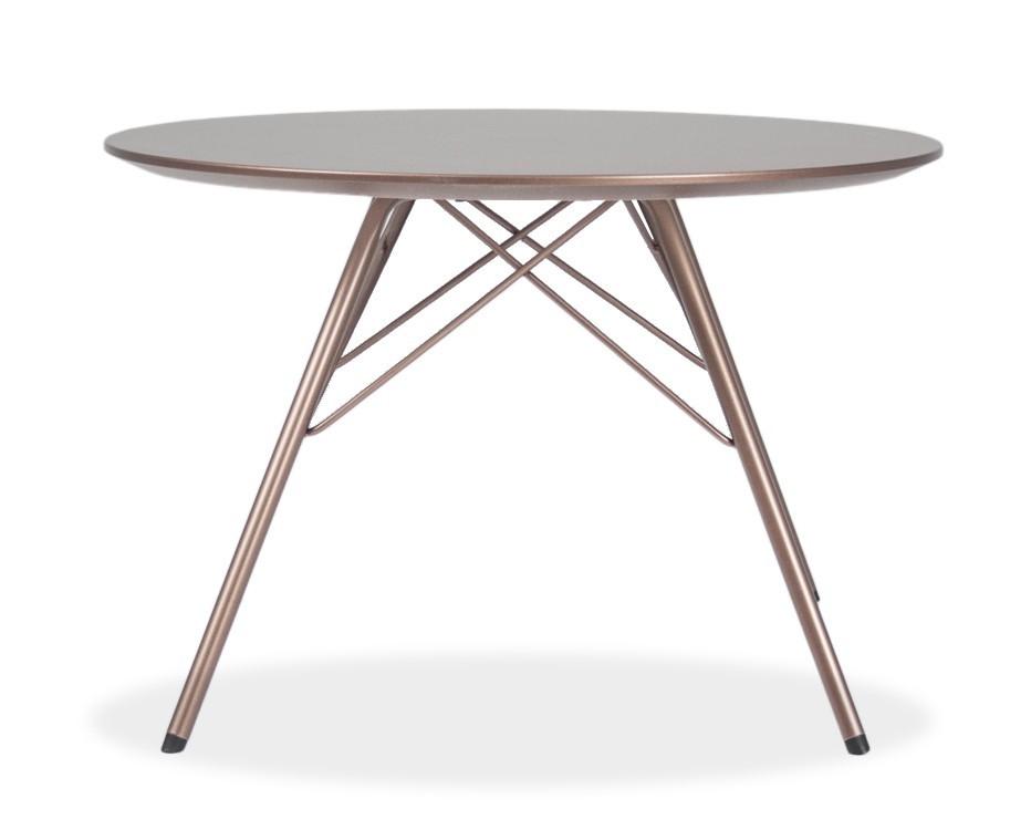 Jídelní stůl LOLA 9306-088+PORGY 9316-888 (bronz)