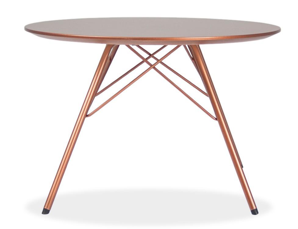 Jídelní stůl LOLA 9306-089+PORGY 9316-889 (měď)