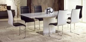 Jídelní stůl Marcello (bílá) - II. jakost