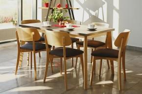 Jídelní stůl Ombo rozkládací (dub, beton)