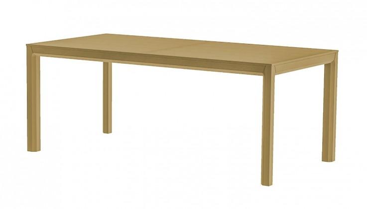 Jídelní stůl Patch (dub masiv, dýha dub)