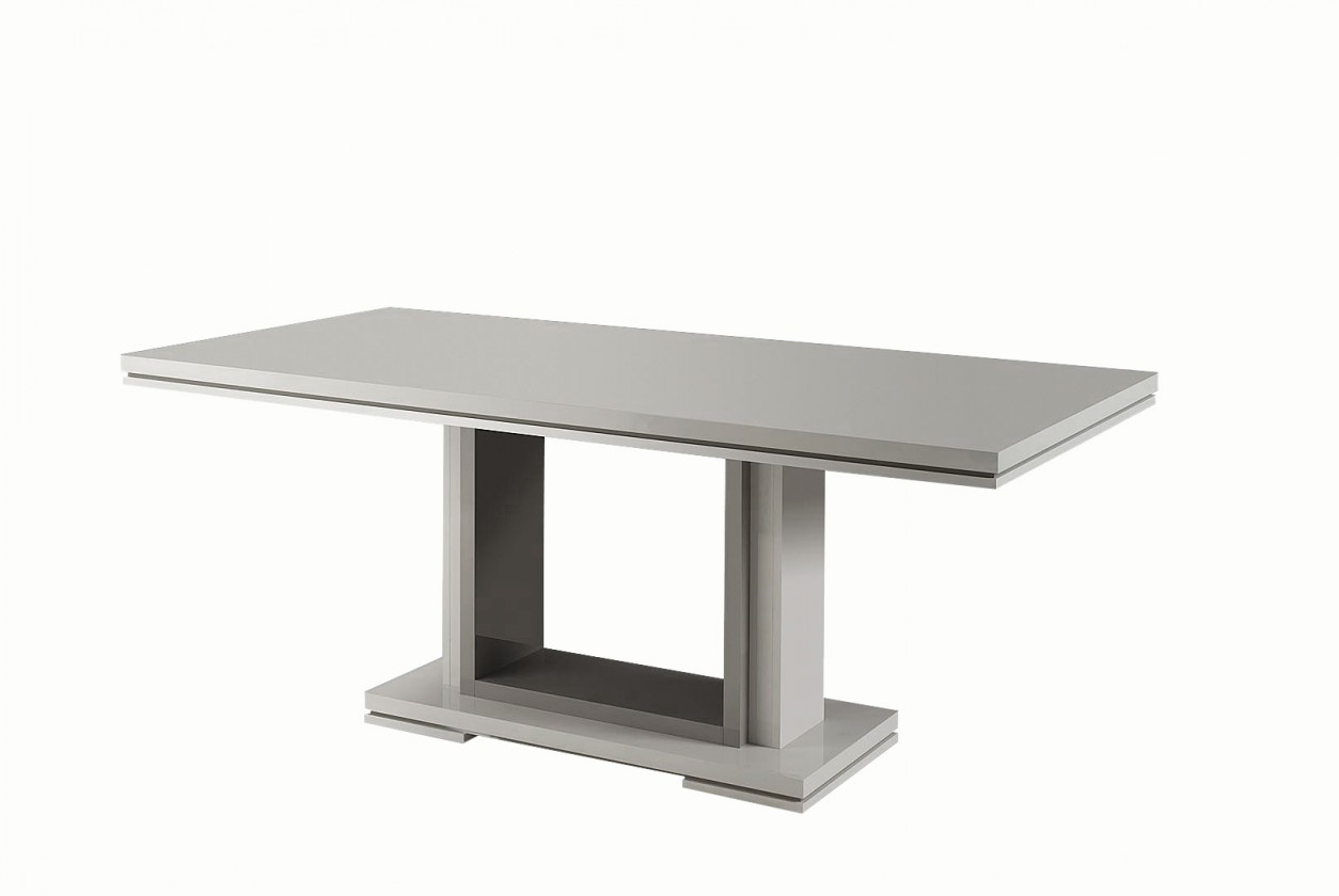 Jídelní stůl Rimini - Jídelní stůl 160 cm (tmavě šedá/šedá)