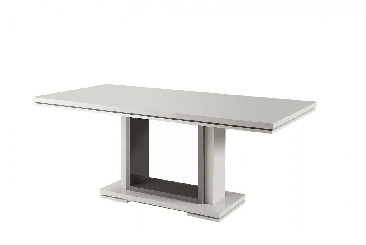 Jídelní stůl Rimini - Jídelní stůl 190 cm (tmavě šedá/bílá)