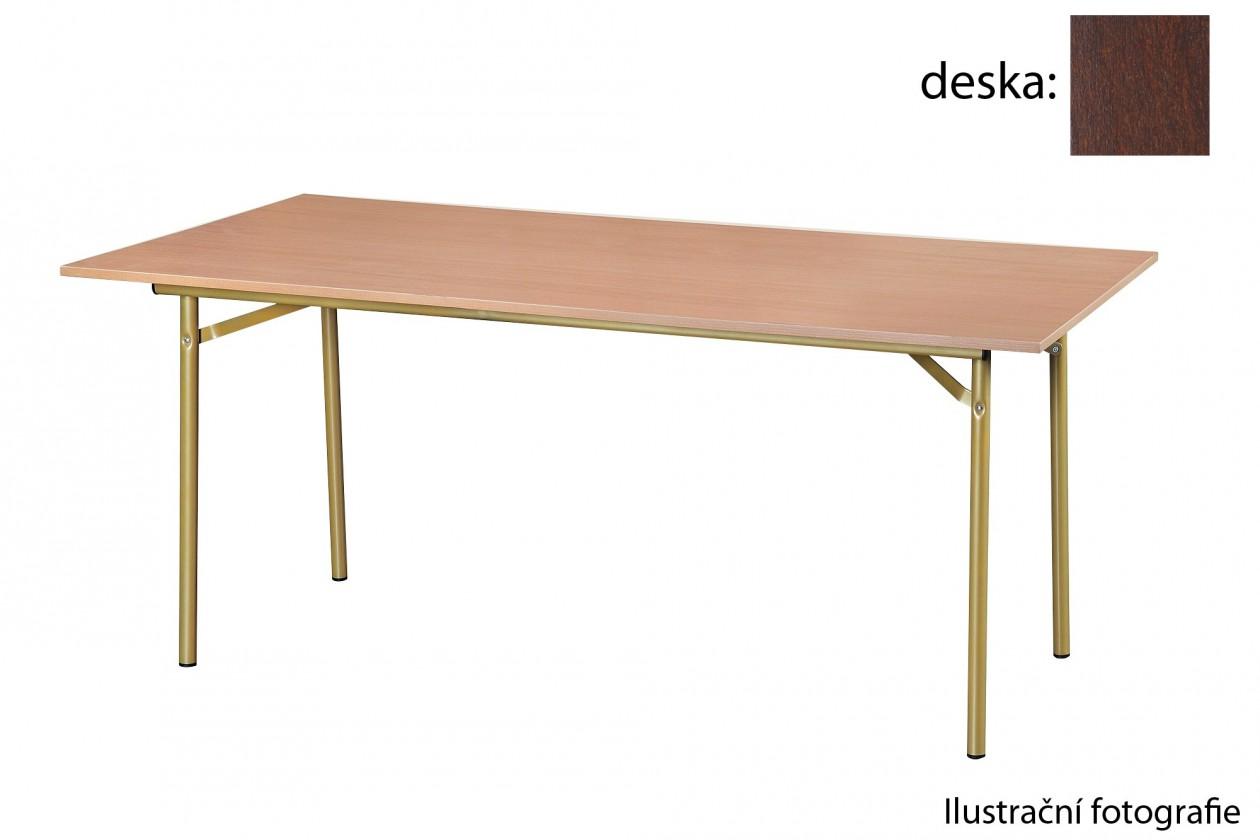 Jídelní stůl Salsa-180x90(ořech tmavý)