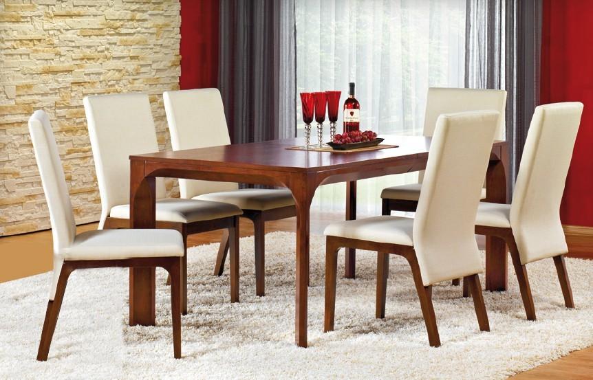 Jídelní stůl Santiago - Jídelní stůl (MDF s přírodní dýhou/třešeň)
