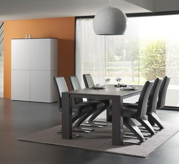 Jídelní stůl Strada - Jídelní stůl 220 C073 (eben perletově šedá)