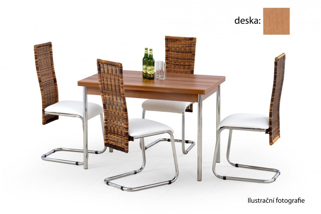 Jídelní stůl Swift (olše / chrom)