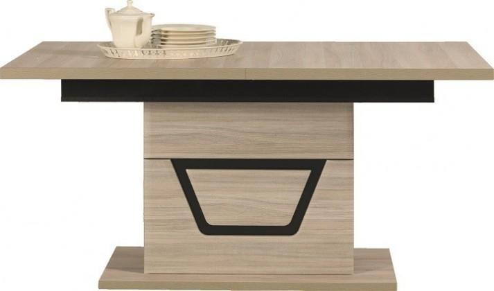 Jídelní stůl Tes - Jídelní stůl (jilm, korpus a fronty)